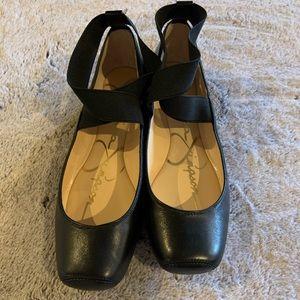 Jessica Simpson Black Flats — NIB — Size 7